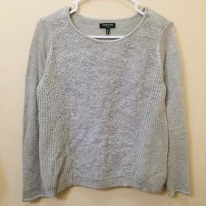 Kenneth Cole Long Sleeve Gray Top